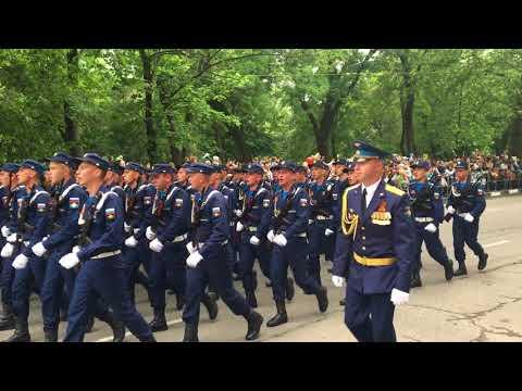 Парад на День Победы 9 мая 2018г в  Новороссийске