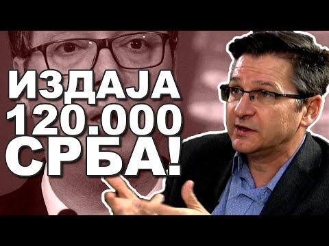 Vučić predaje 120.000 Srba Tačiju i Haradinaju! - Miloš Ković (Skeniranje) 2019