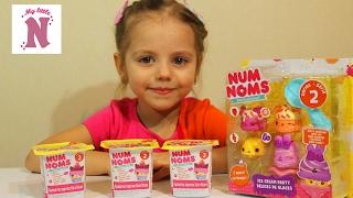Игровой набор NUM NOMS Готовим мороженое Ice Cream Распаковка игрушки Видео для детей