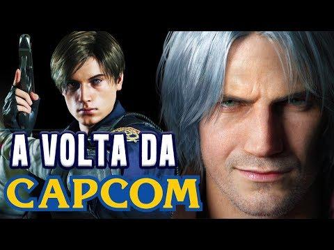 A Crise e a Volta por Cima da Capcom