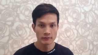 TVB型男何俊軒做眉形矯正的心情剖白(前)