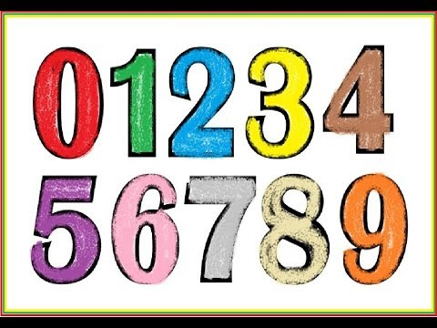 Learn To Paint Numbers | Coloring Pages for Kids | Shape Worksheets for Preschool Tutorial
