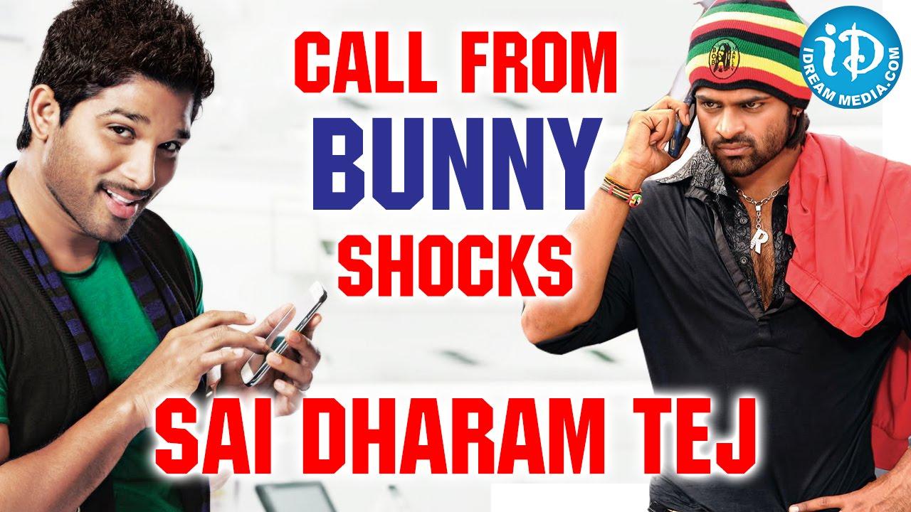 Allu Arjun Shocks Sai Dharam Tej with a Phone Call || Subramanyam For Sale  Movie