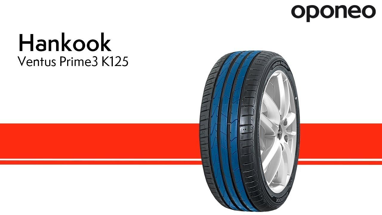 Opona Hankook Ventus Prime3 K125 Opony Letnie Oponeo Youtube