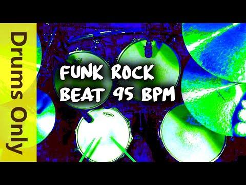 Funk Rock Drum Beat 95 BPM - JimDooley.net