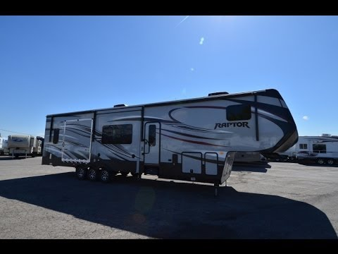 Raptor Toy Hauler Fifth Wheel RV Sales 8 Floorplans