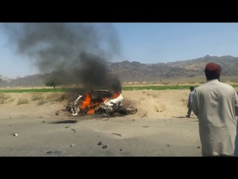 Afghan spy agency says Taliban leader dead in US drone attack
