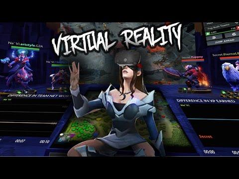 Dota 2 Hub доступен для зрителей в VR