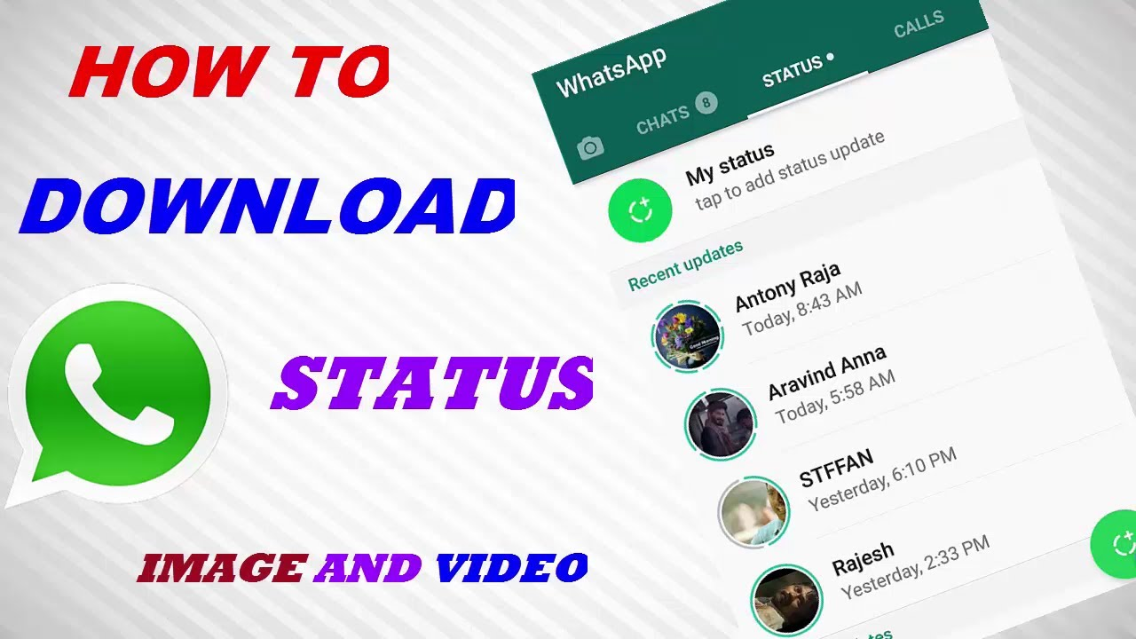 How To Download Whatsapp Status In Tamil