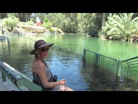 Yardenit Baptismal Site, the Jordan River, Israel. Tour Guide: Zahi Shaked July 5, 2013