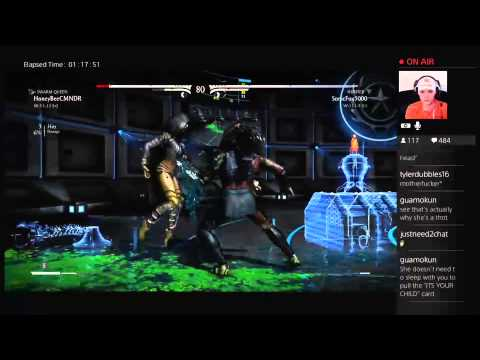 MKX HoneyBee (Swarm Queen D'Vorah) vs SonicFox (Hunter Predator)