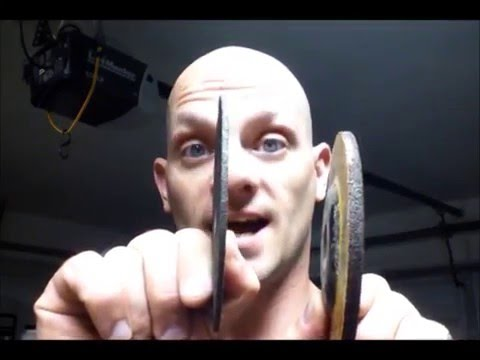 Cut Off Wheel Or Grinding Wheel Youtube