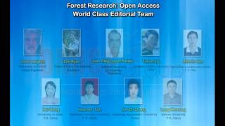 Forest Research: Open Access Journal | OMICS Publishing Group