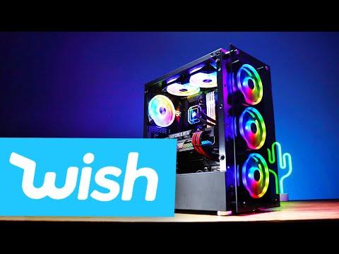 ENDLICH!! Der WISH.com GAMING PC ist fertig!!... #GamingSchrott