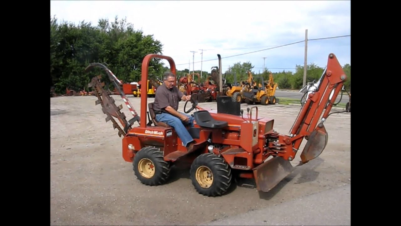 1987 ditch witch 2310 trencher for sale sold at auction october 23 rh youtube com Ditch Witch 2310 Parts Ditch Witch 2310 Trencher