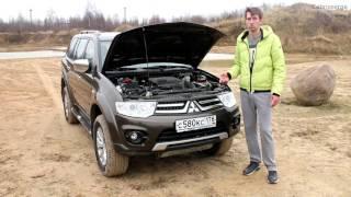 Мини-обзор Mitsubishi Pajero Sport. Работа трансмиссии super select. Диагоналка, Бездорожье.