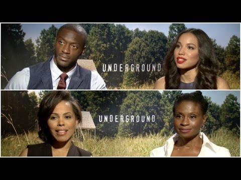 'Underground' stars push back on notion that house slaves had it easier