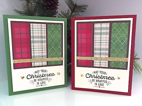 Simply Simple MAKE IT IN MINUTES – 12 Christmas Cards in Minutes