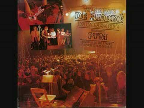Bocca di Rosa - Fabrizio De André PFM in concerto