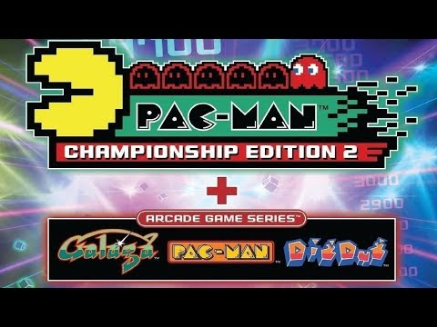Pac-Man Championship Edition 2 + Arcade Game Series Collection Gameplay (PS4)