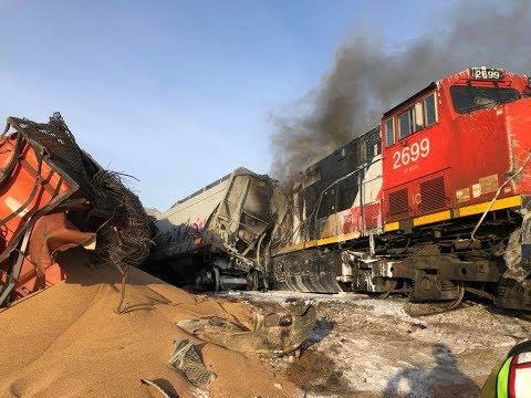 Train derails near Saskatoon