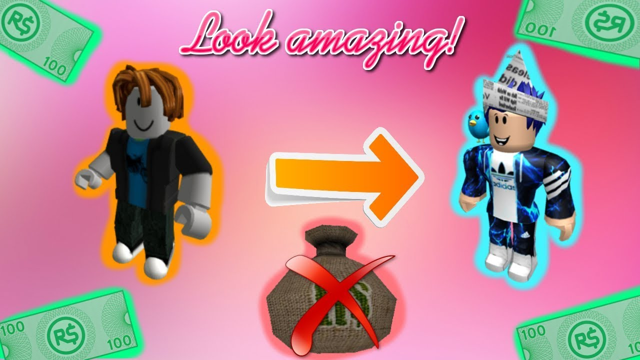 How To Look Cool In Roblox Without Robux On Ipad - How To Look Coolrich In Roblox With 0 Robux Boys Version