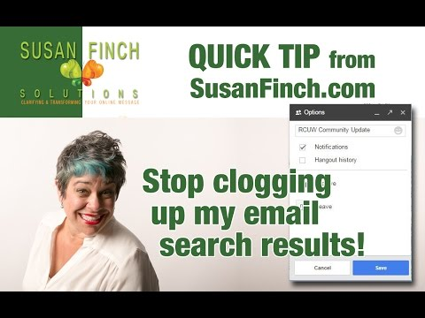 Quick Tip: Google Chat History And Search Results.