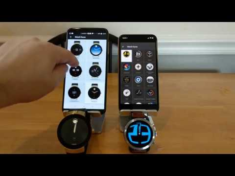 Android Wear 2.0 On IPhone And Android What's The Difference?