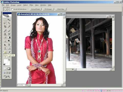 Photoshop CS2 - Phần 1 - Bài 4 - Color Range