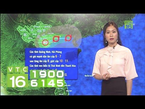 Dự báo thời tiết 03/08/2019 | Bão số 3 đổ bộ, Bắc Bộ mưa lớn kinh hoàng | VTC16
