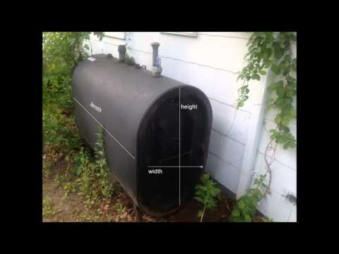 How to measure how much heating oil is in your oil tank