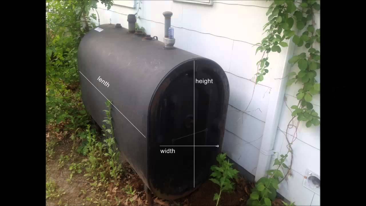 How to measure how much heating oil is in your oil tank ...