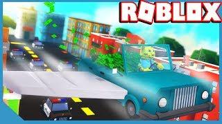 ROBLOX JAILBREAK FLYING CARS