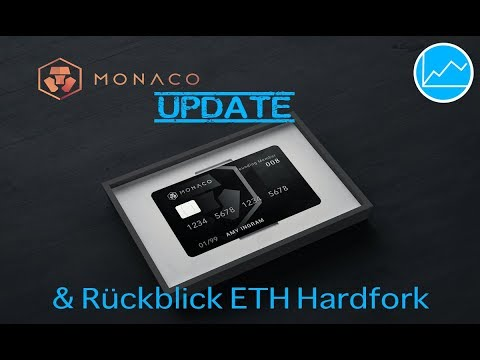 Monaco (MCO) Investment Update & Ethereum Hardfork Review