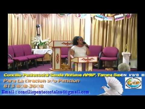 Culto Evangelistco Concilio Pentecostal Senda Antigua AMIP Tampa Bay. - 09-25-2016