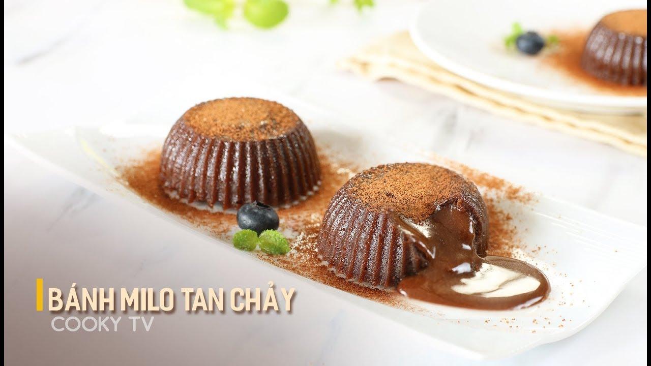 #CookyVN – Cách làm bánh MILO TAN CHẢY đơn giản tại nhà – Cooky TV