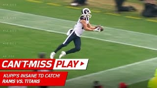 Cooper Kupp Makes Insane TD Catch vs. Tennessee! | Can't-Miss Play | NFL Wk 16 Highlights