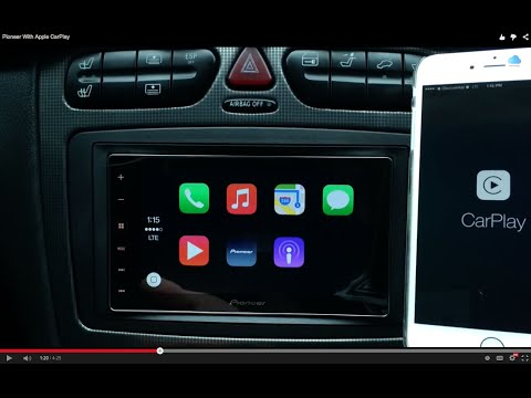 Pioneer Radio With Apple CarPlay