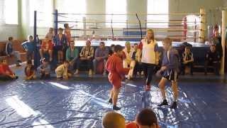 Соревнования по самбо в г. Бузулук 08.11.2013 (Рагулин Никита вес. 30 кг.) финал
