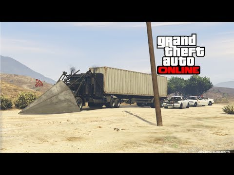 GTA: Online Gun running - how NOT to sell weapons