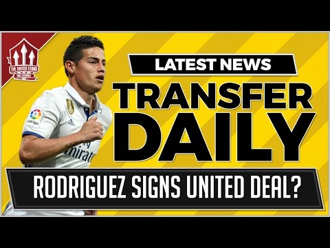 James RODRIGUEZ Agrees MAN UTD Deal! MAN UTD Transfer News