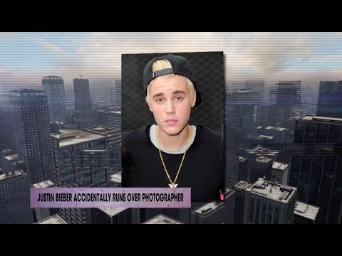 Justin Bieber accidentally runs over photographer | Rumor Report