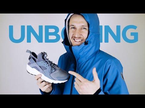 Unboxing и обзор кроссовок Nike Air Force 1, Air Huarache Run Ultra и куртки Anteater X Redfox