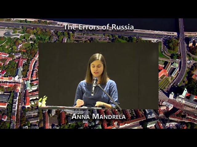 The Errors of Russia (Anna Mandrela)