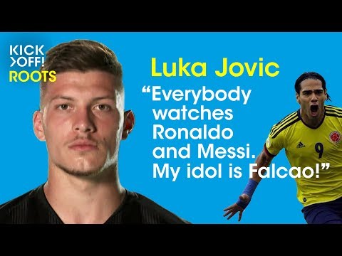 Luka Jović – Europe's top clubs have their eyes on Frankfurt's forward