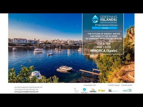 Greening the Islands, 5th International Conference, Minorca