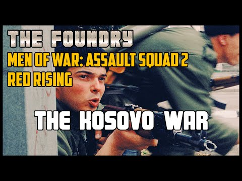 The Kosovo War (Custom Battle) - Men of War: Assault Squad 2 (Red Rising)