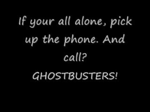 Ghostbusters By Ray Parker Jr. With Lyrics