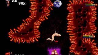 Earthworm Jim 2 for Genesis Part 4 - Jim