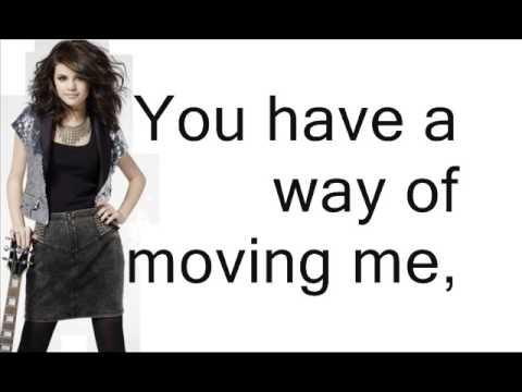 Selena Gomez & The Scene - Naturally - Lyrics On Screen